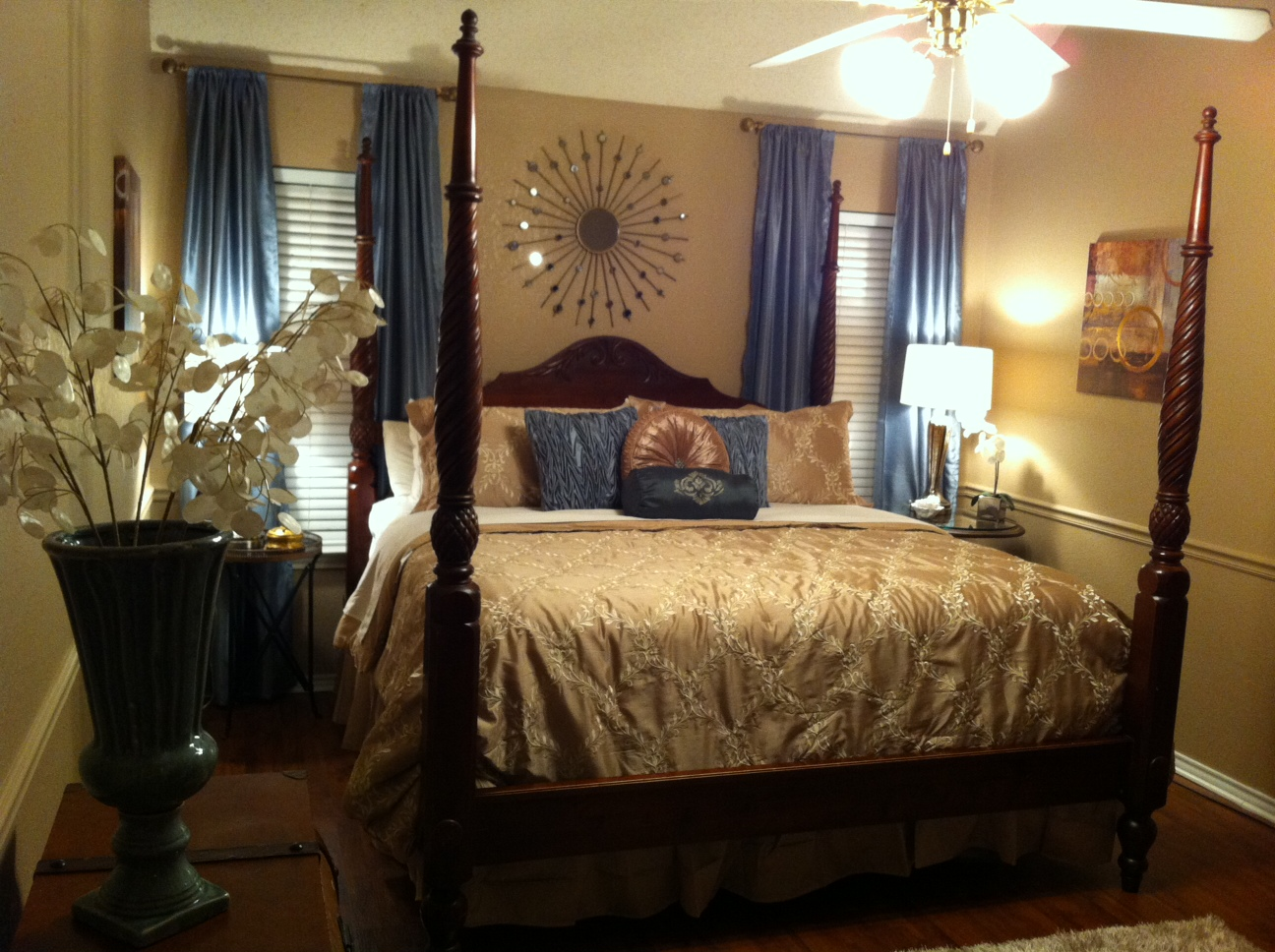 Luxurious Master Bedroom Retreat Designs By Tamela