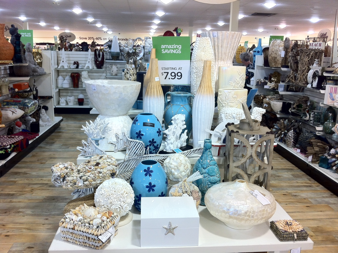 Tjmaxx homegoods spring fever haul designs by tamela for Home goods decorative accessories
