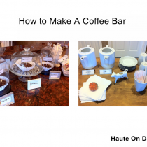 How to Make a Coffee Bar
