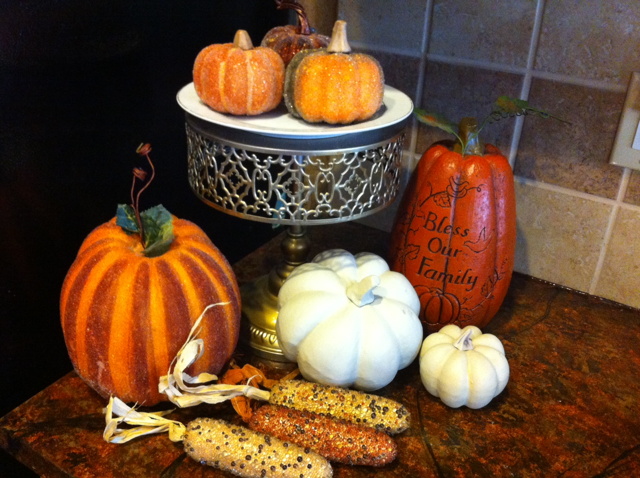 Fall Kitchen Decorating New Series Fall Decorating And Entertaining Series Designs By