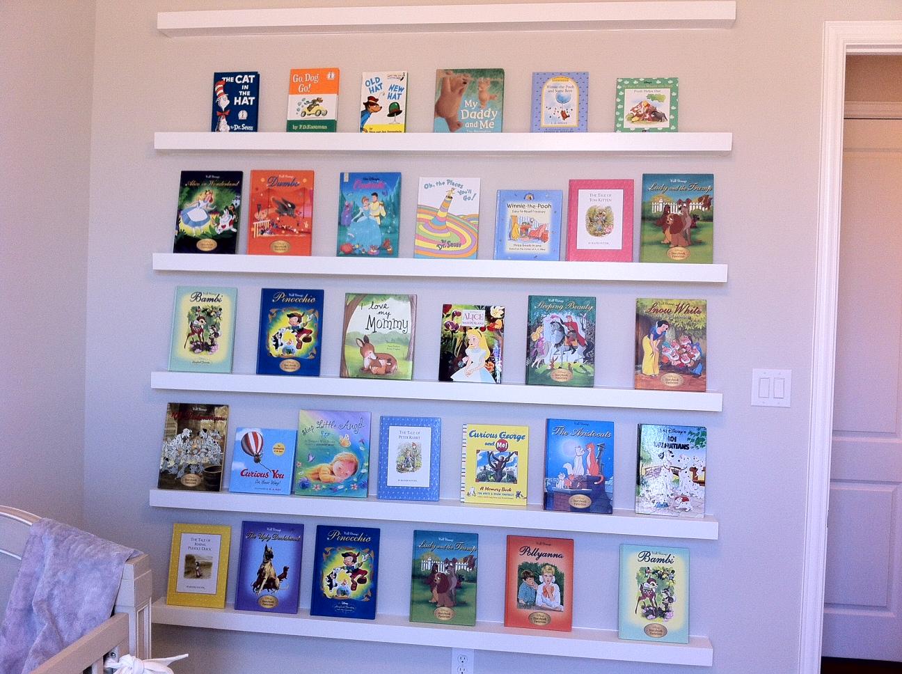 Whimsical Bookshelf Designs By Tamela