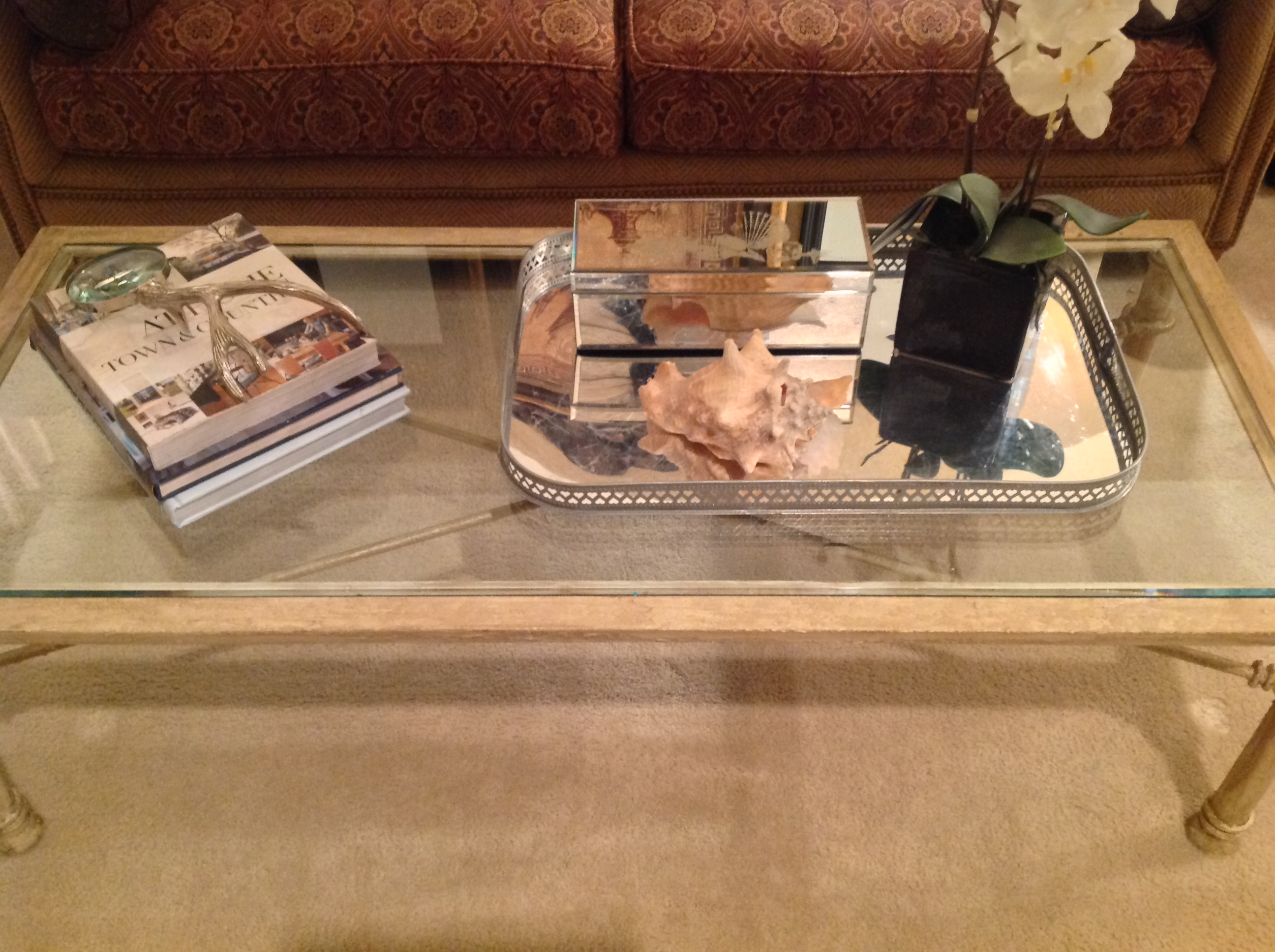decorating a coffee table…..designer style – designstamela