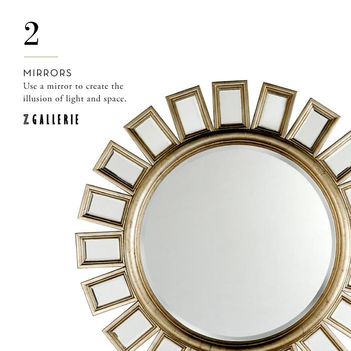 Five design essentials z gallerie style designs by tamela for Mirror z gallerie