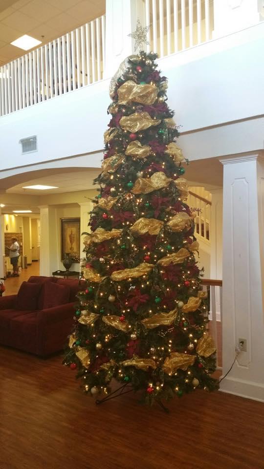 Le christmas tree 2014