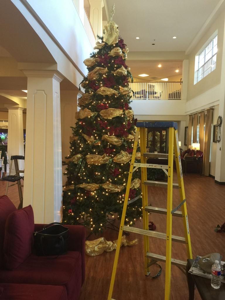 le christmas tree midprogress 2014