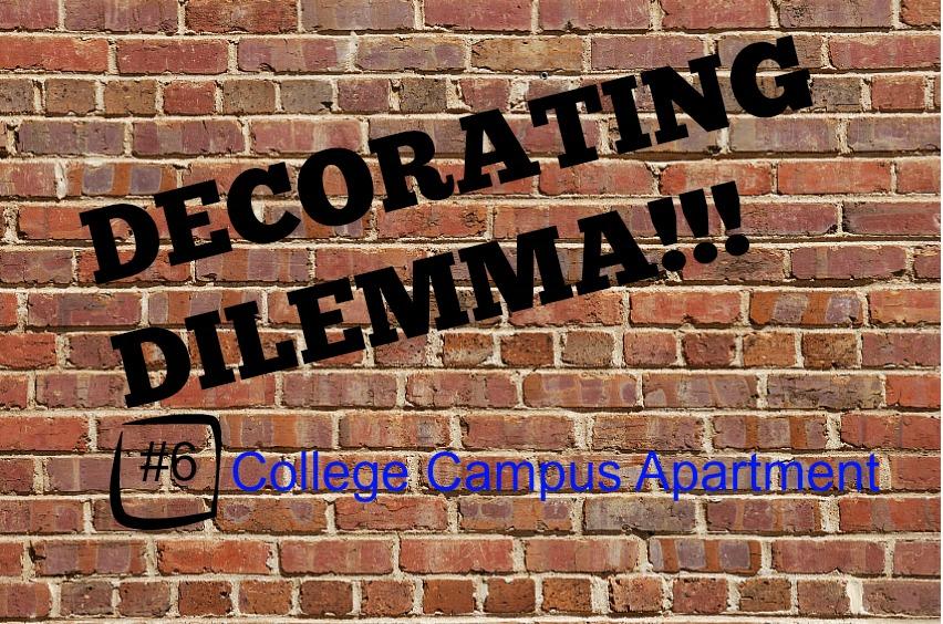 OB-Decorating Dilemmas college campus apartment