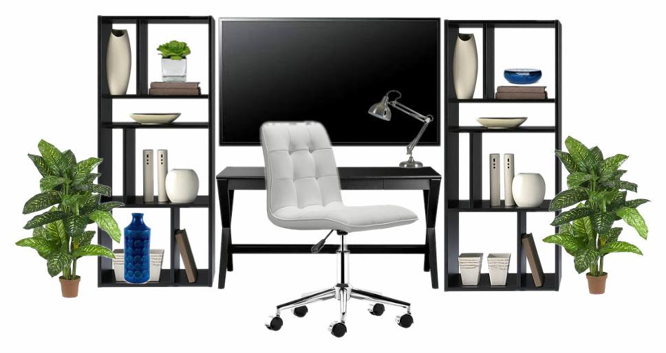 OB-Dorm Unit TV wall