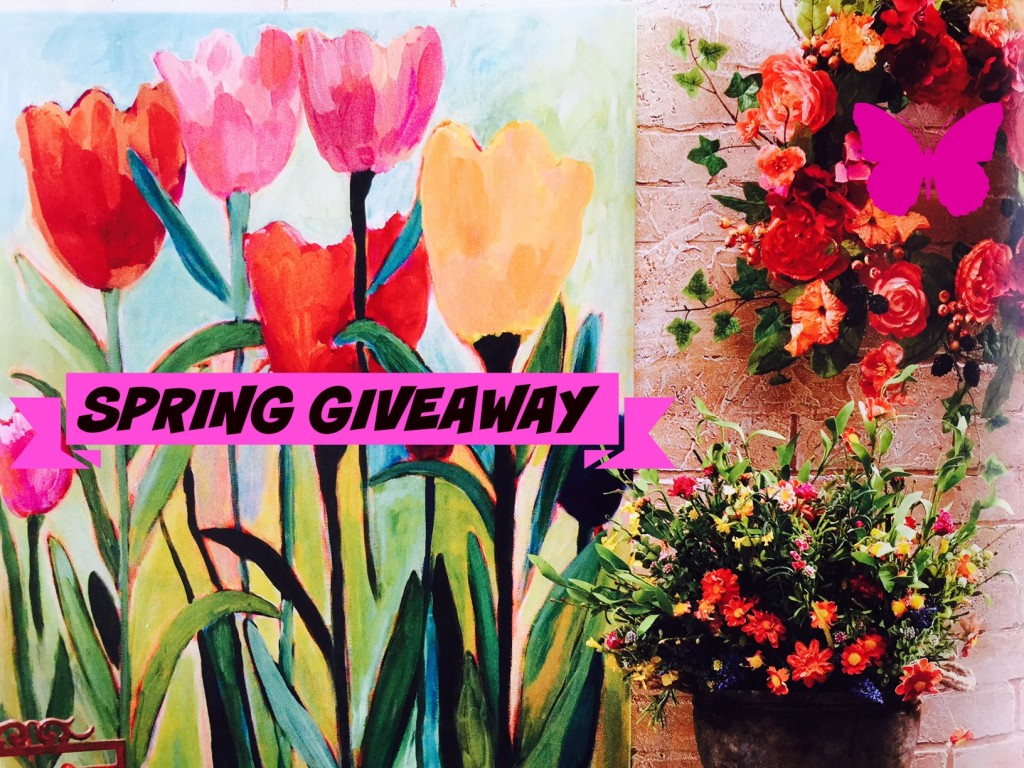 spring giveaway FOR youtube