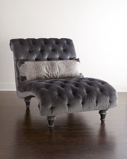 horchow old hickory tannery battista chaise