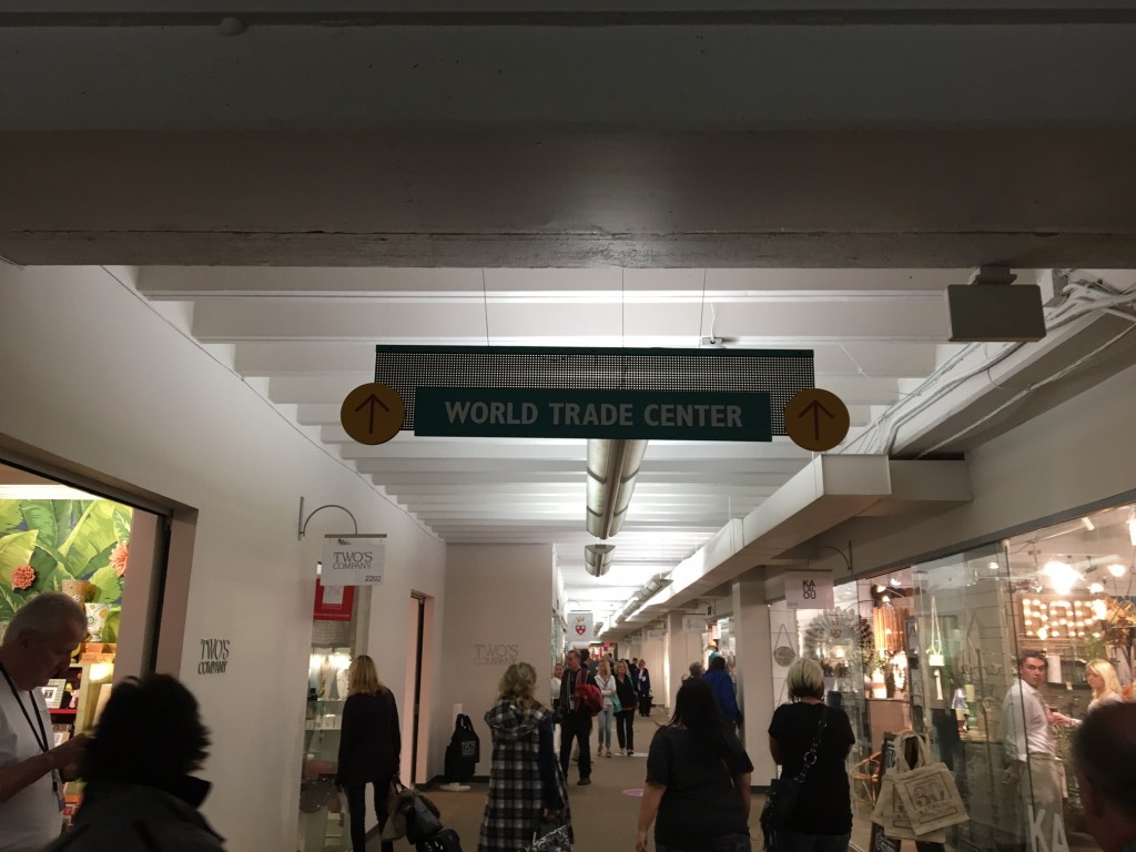world trade center entrance