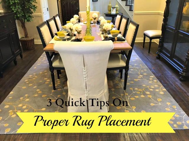 Proper Rug Placement Thumbnail