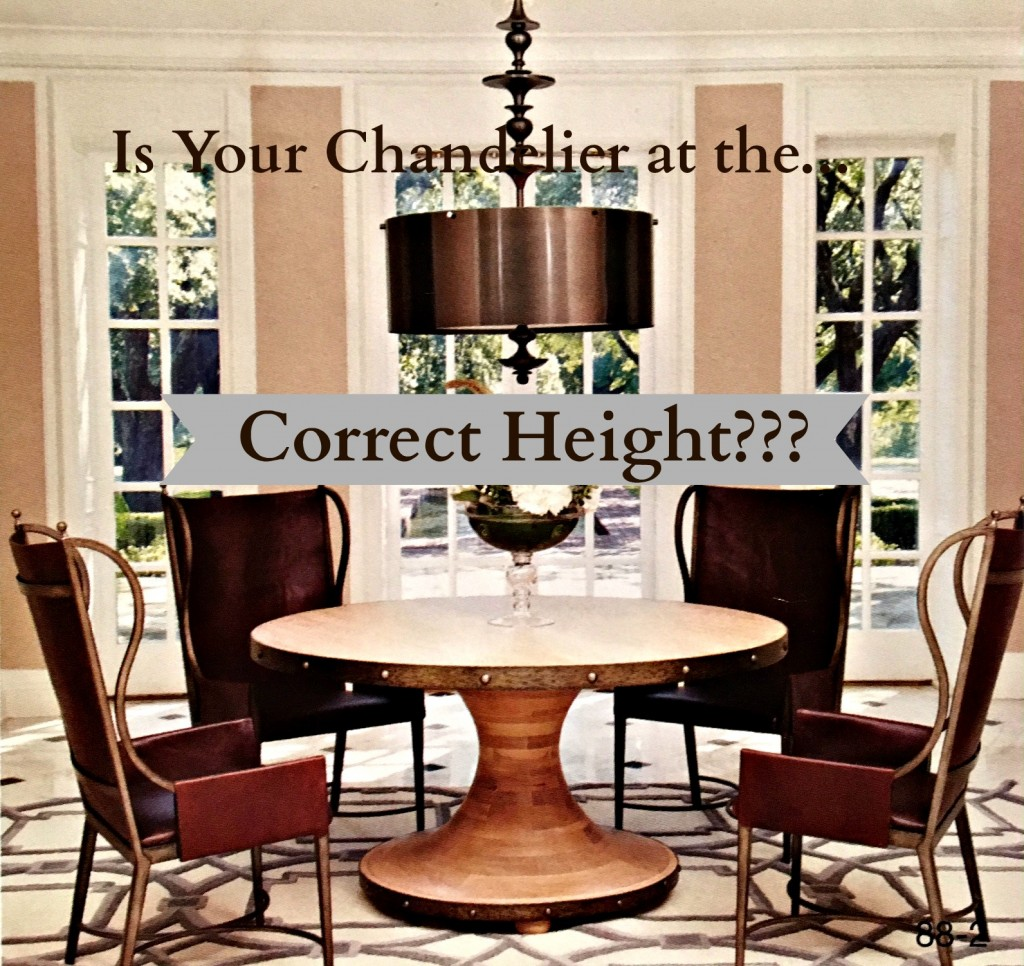 correct height chandelier thumbnail